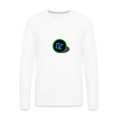 GZ Logo - Men's Premium Long Sleeve T-Shirt
