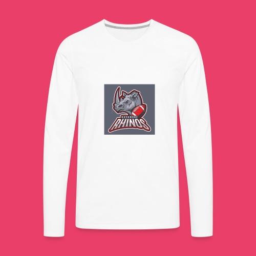 Long horn - Men's Premium Long Sleeve T-Shirt