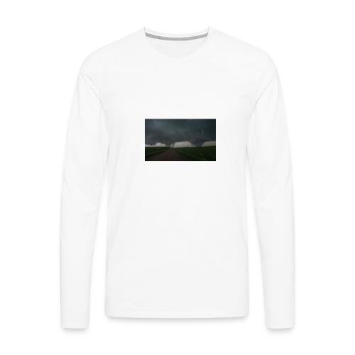 tornado may24 2016 - Men's Premium Long Sleeve T-Shirt