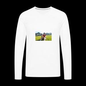 heybigboy - Men's Premium Long Sleeve T-Shirt