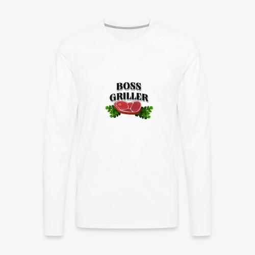 Boss Griller - Men's Premium Long Sleeve T-Shirt