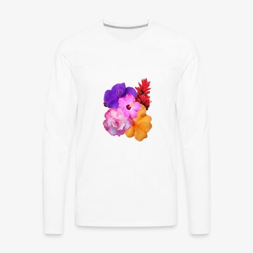 Flowers - Men's Premium Long Sleeve T-Shirt