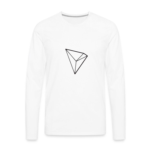 Tronix Cryptocurrency of the future - Men's Premium Long Sleeve T-Shirt