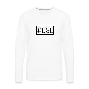 DSL Main Logo - Men's Premium Long Sleeve T-Shirt