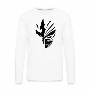 Hollow Mask Black - Men's Premium Long Sleeve T-Shirt