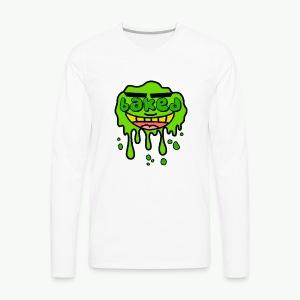 B.A.K.E.D E.N.T ® - Men's Premium Long Sleeve T-Shirt