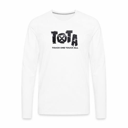 Touch One Touch All original logo - Men's Premium Long Sleeve T-Shirt