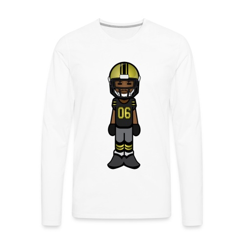 Gold Zone - Men's Premium Long Sleeve T-Shirt