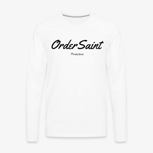 Order Saint Productions - Men's Premium Long Sleeve T-Shirt