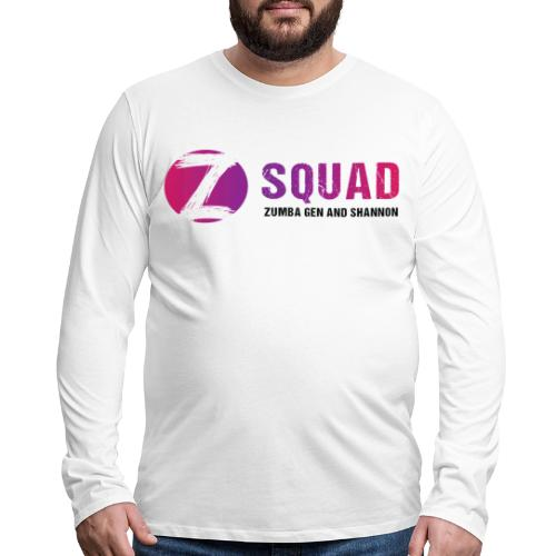 Z SQUAD LogoBLACK - Men's Premium Long Sleeve T-Shirt