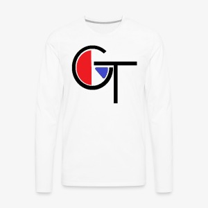 logo with colour - Men's Premium Long Sleeve T-Shirt