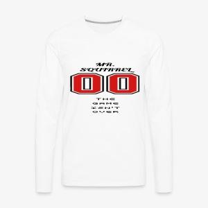 Le jeu n'est pas terminé - T-shirt Premium à manches longues pour hommes