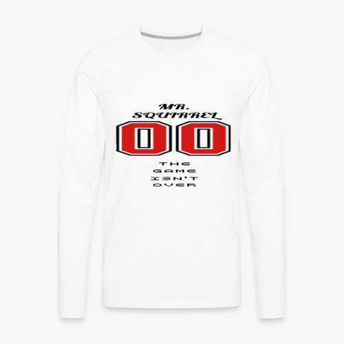 The game isn't over - Men's Premium Long Sleeve T-Shirt