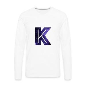 LuisK47 K merch !!!! - Men's Premium Long Sleeve T-Shirt