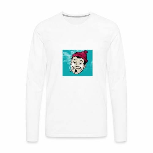 ask a stoner - Men's Premium Long Sleeve T-Shirt