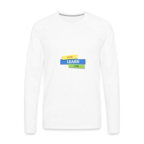 Triple L T-shirt - Men's Premium Long Sleeve T-Shirt