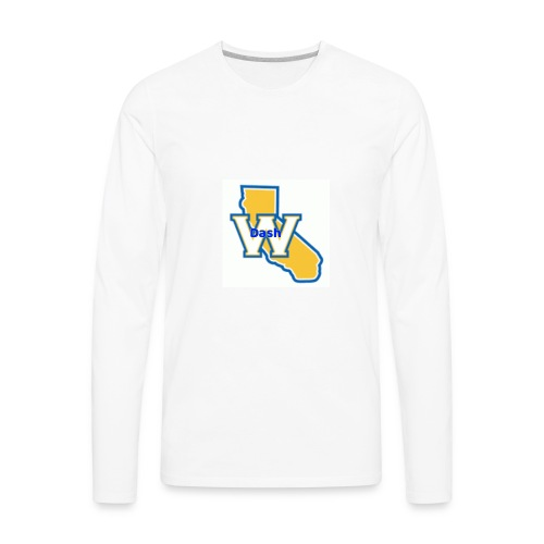 Original ChrisDash Emblem - Men's Premium Long Sleeve T-Shirt