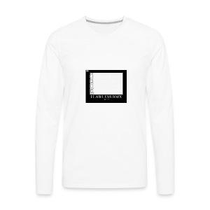 flawless bmx 3 - Men's Premium Long Sleeve T-Shirt