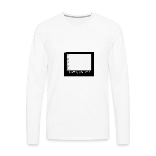 flawless bmx 3 - Men's Premium Long Sleeve T-Shirt