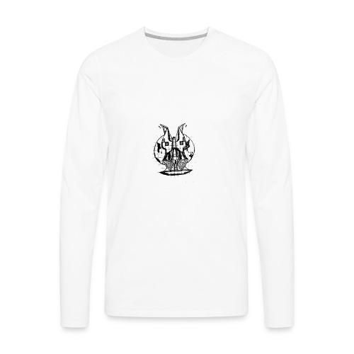 World Face - Men's Premium Long Sleeve T-Shirt