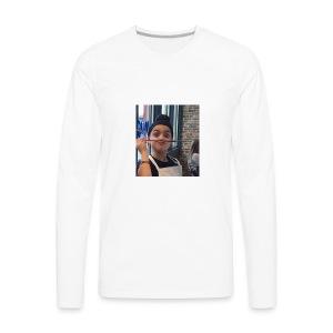 my face! - Men's Premium Long Sleeve T-Shirt