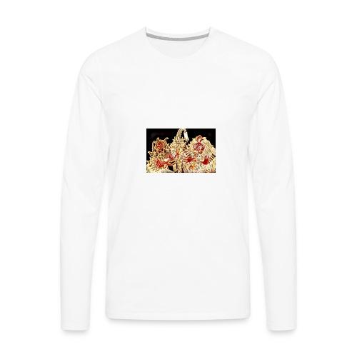 Bali Barong lion - Men's Premium Long Sleeve T-Shirt