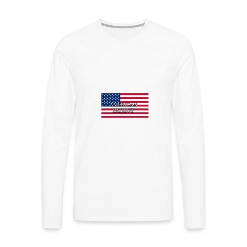 American Patriot - Men's Premium Long Sleeve T-Shirt