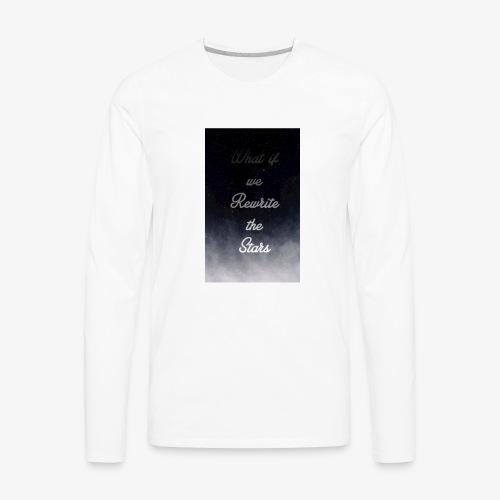 rewrite the stars - Men's Premium Long Sleeve T-Shirt