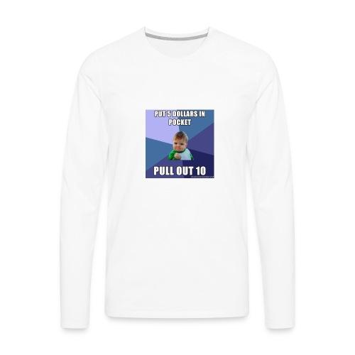 success 56a9fd1f3df78cf772abee09 - Men's Premium Long Sleeve T-Shirt