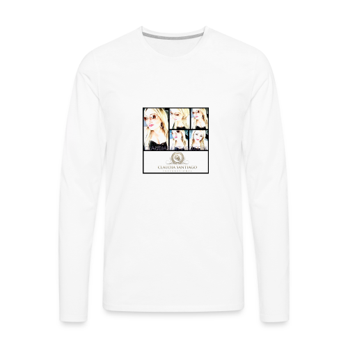 Claudia Santiago | www.ClaudiaSantiago.com - Men's Premium Long Sleeve T-Shirt