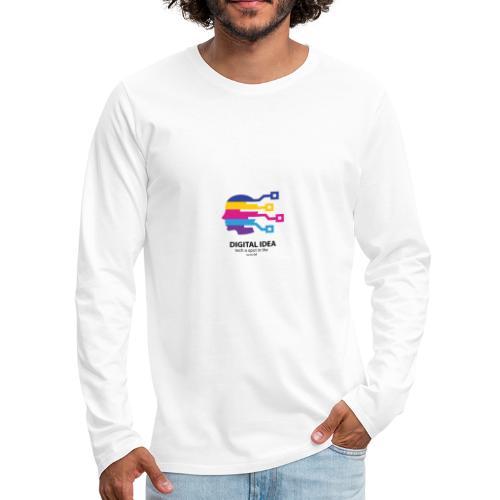 Digital idea - Men's Premium Long Sleeve T-Shirt