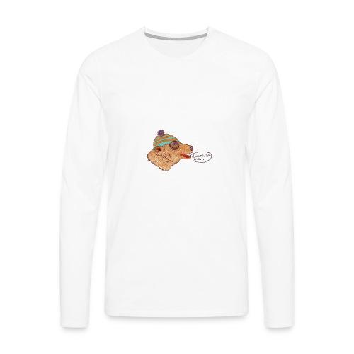bear with me - Men's Premium Long Sleeve T-Shirt