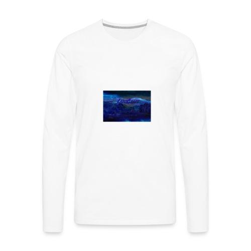 LapisCraft Large Logo - Men's Premium Long Sleeve T-Shirt