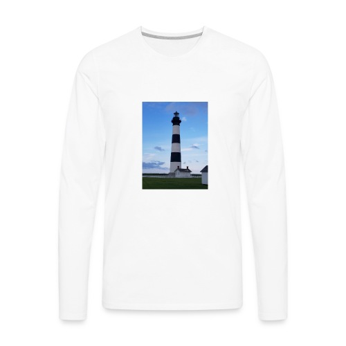 Boodie Lighthouse - Men's Premium Long Sleeve T-Shirt