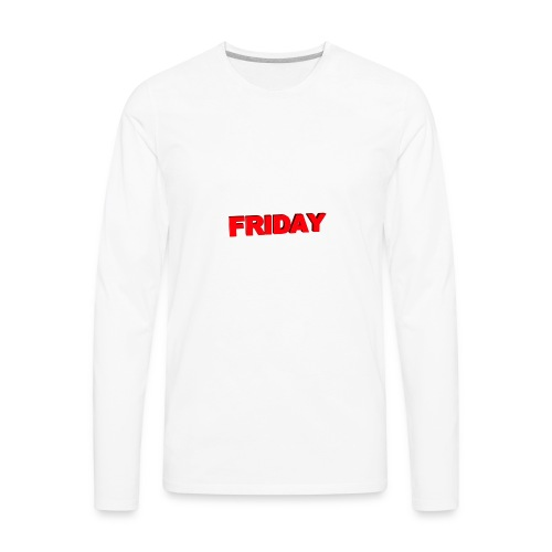 premium radmonster friday merch - Men's Premium Long Sleeve T-Shirt