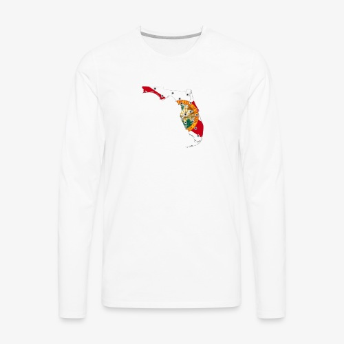 FLORIDA - Men's Premium Long Sleeve T-Shirt