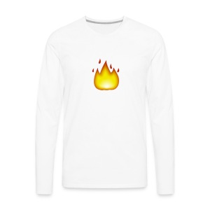 fire 2 - Men's Premium Long Sleeve T-Shirt