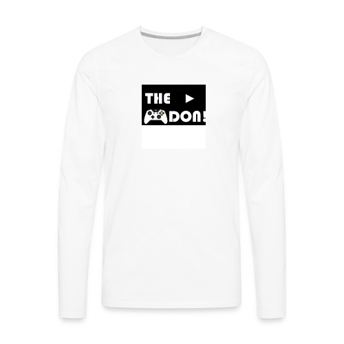 The Don's Official Shirt - Men's Premium Long Sleeve T-Shirt