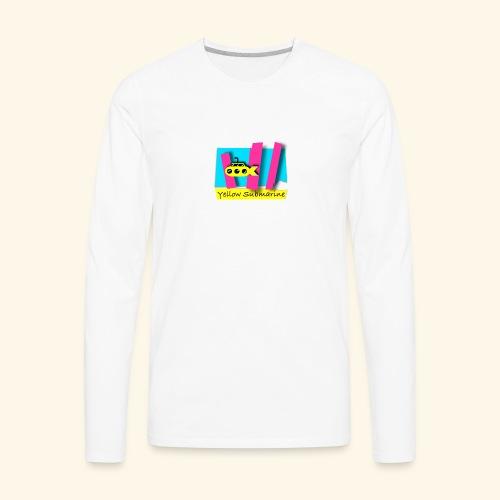 Yellow Submarine-CMKY - Men's Premium Long Sleeve T-Shirt