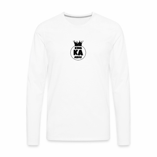 king abou merch - Men's Premium Long Sleeve T-Shirt