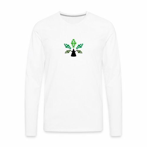 Tri City TriChomes FINAL LOGO 645AM 1 - Men's Premium Long Sleeve T-Shirt