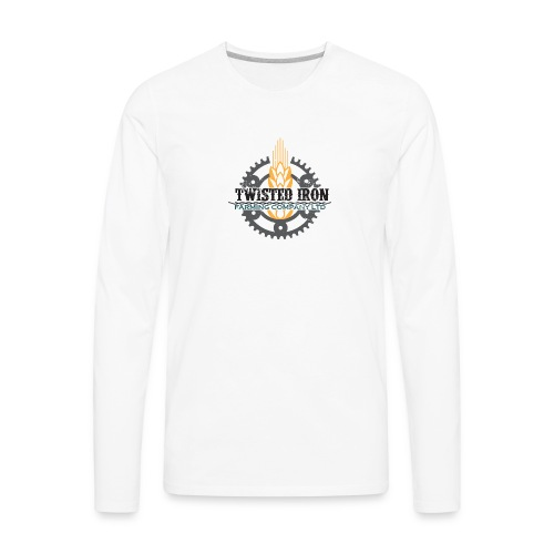 Twisted Iron Farming Co - Men's Premium Long Sleeve T-Shirt