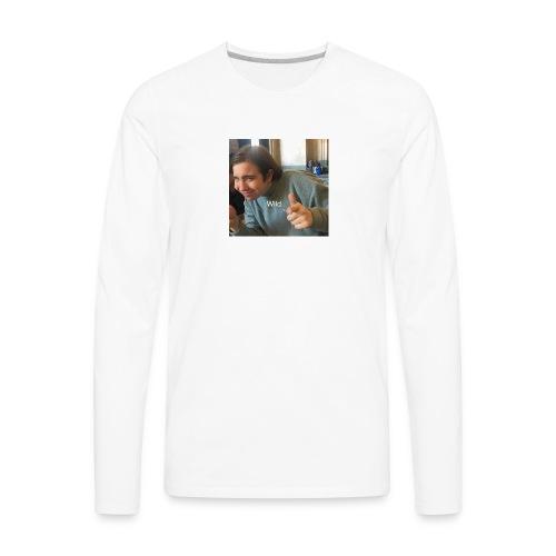 Wild Text - Men's Premium Long Sleeve T-Shirt