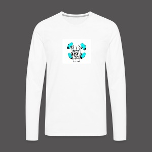 TEAM PIT ICE LOGO - Men's Premium Long Sleeve T-Shirt
