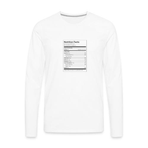 Brisk ingrediant merch - Men's Premium Long Sleeve T-Shirt