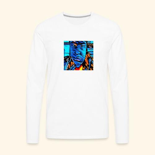 Ryan Leslie 76 Shirts - Men's Premium Long Sleeve T-Shirt