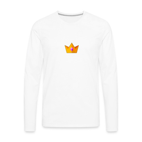 Royalty Crown - Men's Premium Long Sleeve T-Shirt
