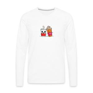 Coffee Love - Men's Premium Long Sleeve T-Shirt