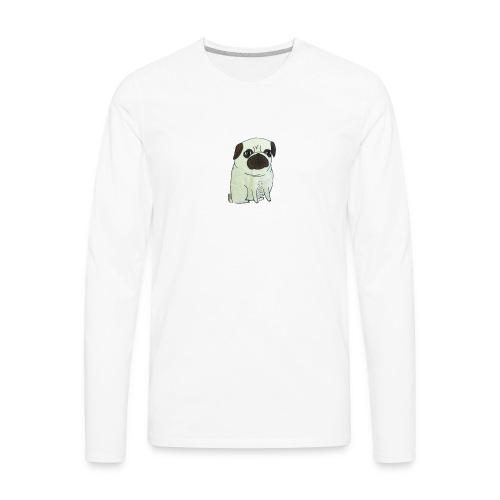 Pugs not drugs - Men's Premium Long Sleeve T-Shirt