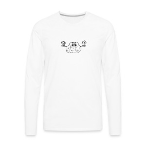 CloutStars Money Brain - Men's Premium Long Sleeve T-Shirt